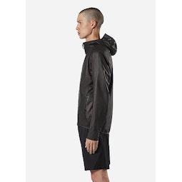 Rhomb Jacket Black Side View