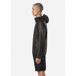 Rhomb Jacket Black Side View