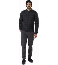 Rico Jacket Black Front View