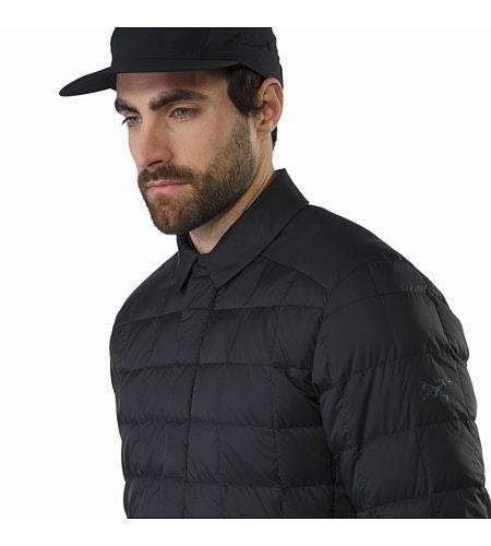 Rico Shacket Black Collar