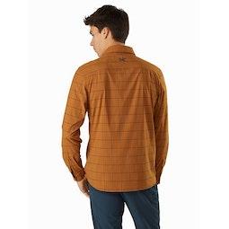 Riel Shirt LS Akola Back View