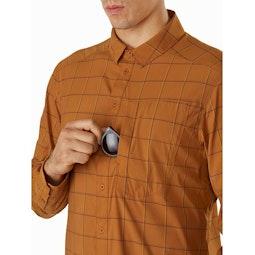 Riel Shirt LS Akola Chest Pocket