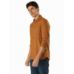 Riel Shirt LS Akola Rolled Sleeves