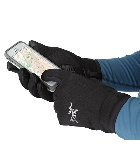 Rivet Glove Black Touchscreen-kompatibler Pad