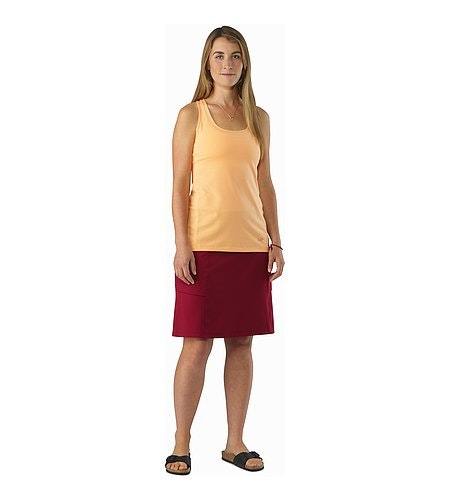Roche Skirt Women's Scarlet Front View
