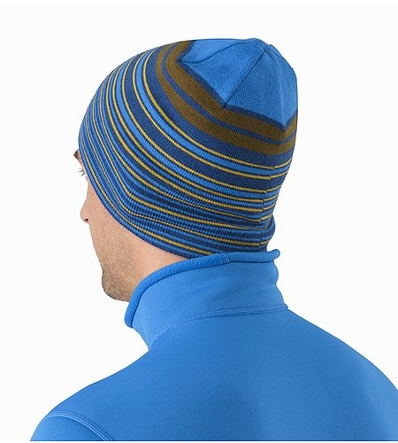 Rolling Stripe Toque Bayou Back View