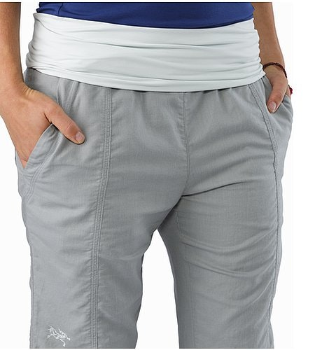 Roxen Pant Women's Smoke Hand Pockets