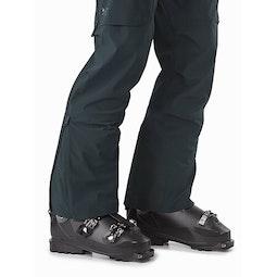 Rush FL Pant Enigma Lower Leg Zipper Open