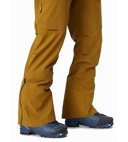 Rush FL Pant Yukon Lower Leg Zipper Open