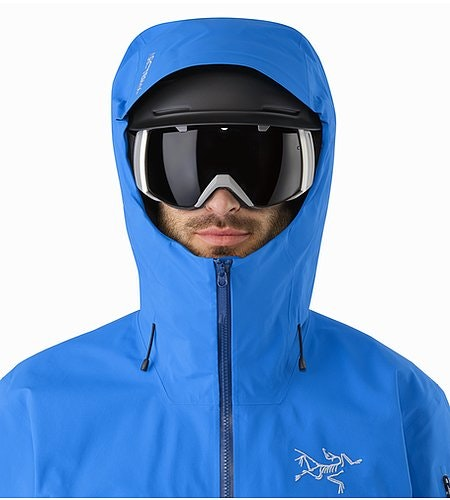 Rush Jacket Lode Star Helmet Compatible Hood Front View
