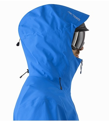 Rush Jacket Lode Star Helmet Compatible Hood Side View