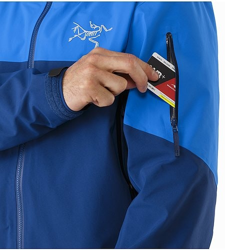 Rush Jacket Lode Star Sleeve Pocket