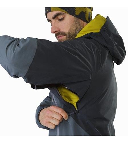 Rush Jacket Mintaka Unterarmreißverschluss