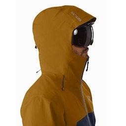 Rush Jacket ReBird Kingfisher Sundance Helmet Compatible Hood