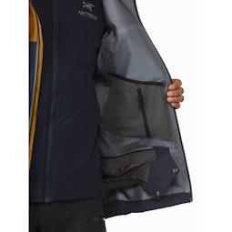 Rush Jacket ReBird Kingfisher Sundance Internal Security Pocket