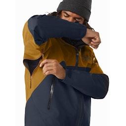 Rush Jacket ReBird Kingfisher Sundance Pit Zip
