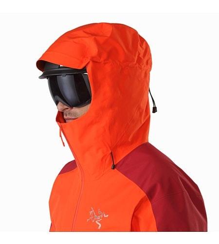 Rush LT Jacket Firecracker Helmet Compatible Hood