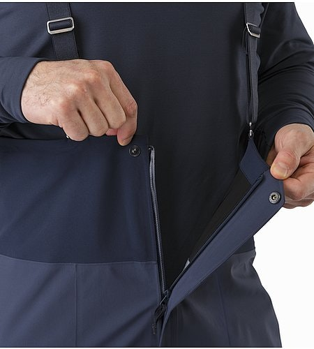 Rush LT Pant Nighthawk Front Zipper