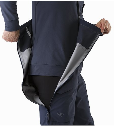 Rush LT Pant Nighthawk Side Zipper