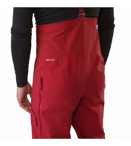 Rush LT Pant Red Beach Back Detail