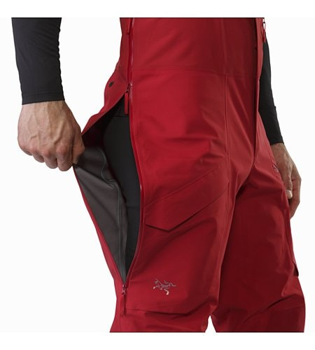 Rush LT Pant Red Beach Side Vent