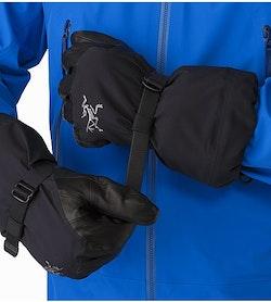 Rush SV Glove Black Adjustable Wrist Strap