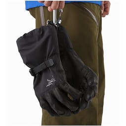 Rush SV Glove Black Carabiner Loop