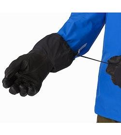 Rush SV Glove Black Cuff Adjuster