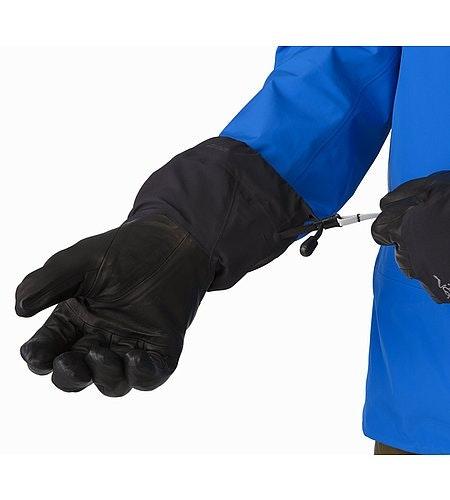 Rush SV Glove Black Manschettenzugband Offen