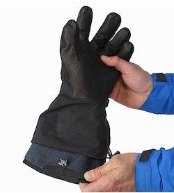 Rush SV Glove Black Removable Liner