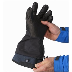 Rush SV Glove Black Removable Liner