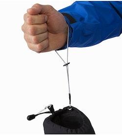 Rush SV Glove Black Removable Wrist Leash