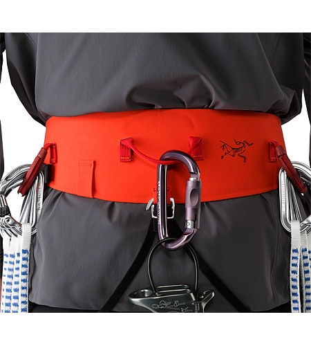SL-340 Harness Magma Back View Detail