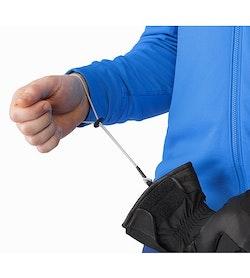 Sabre Glove Black Removable Wrist Leash
