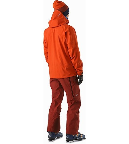 Sabre Jacket Rooibos Rückansicht
