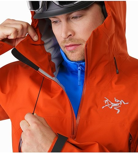 Sabre Jacket Rooibos Hood Adjuster