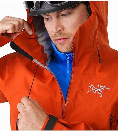 Sabre Jacket Rooibos Kapuzen-Verstellung