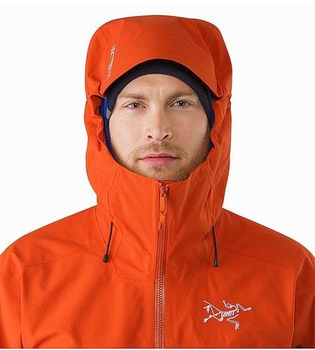 Sabre Jacket Rooibos Hood Front View