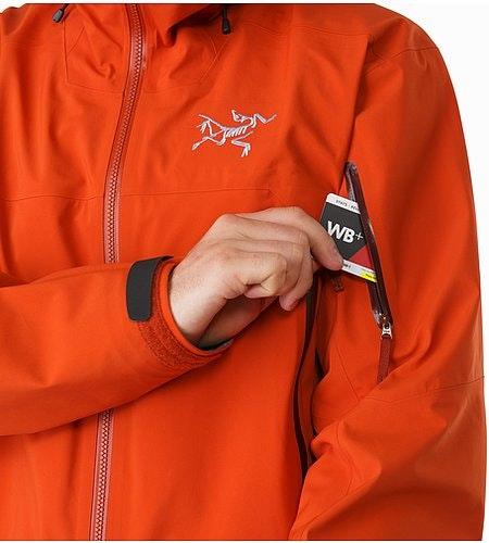 Sabre Jacket Rooibos Ärmeltasche