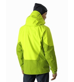 Sabre LT Jacket Adrenaline Back View