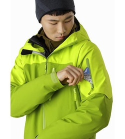 Sabre LT Jacket Adrenaline Sleeve Pocket