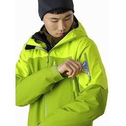 Sabre LT Jacket Adrenaline Sleeve Pocket