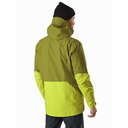 Sabre LT Jacket Gnarnia Glades Back View
