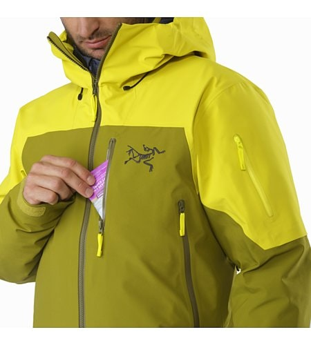 Sabre LT Jacket Serpentine Chest Pocket
