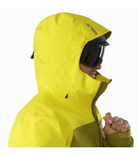 Sabre LT Jacket Serpentine Helmet Compatible Hood