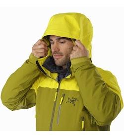 Sabre LT Jacket Serpentine Hood Up