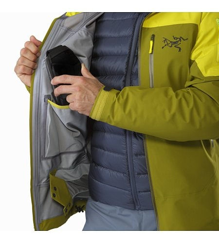 Sabre LT Jacket Serpentine Internal Dump Pocket