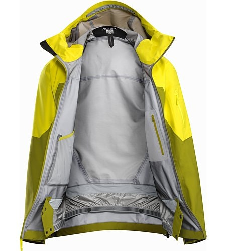 Sabre LT Jacket Serpentine Internal View