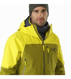 Sabre LT Jacket Serpentine Open Collar