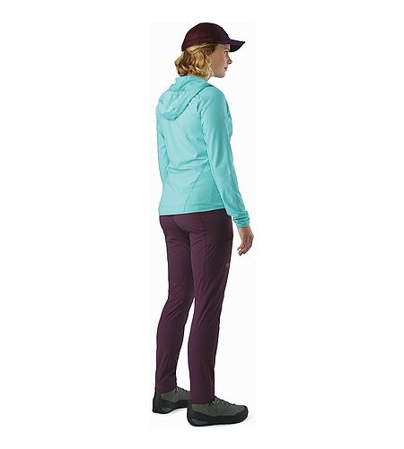 Sabria Pant Women's Purple Reign Back View